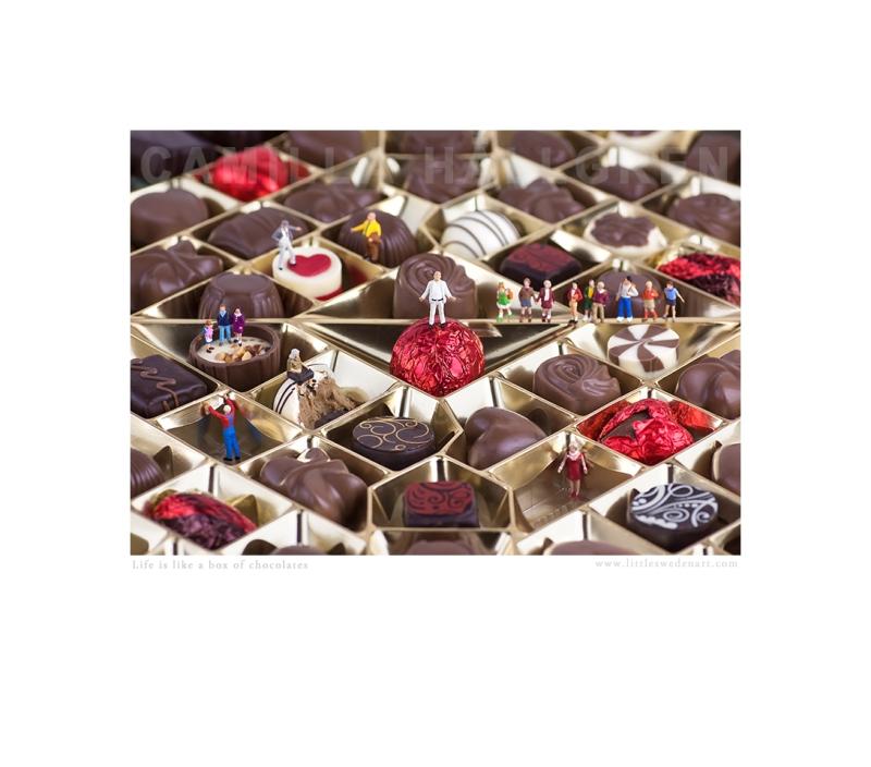 Life is Like a Box of Chocolates